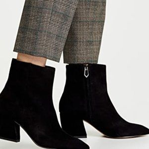 Botkier 'Sasha' Black Ankle Boots